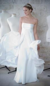 robe de mariée Gilles Zimmer prêt-à-porter Libellule